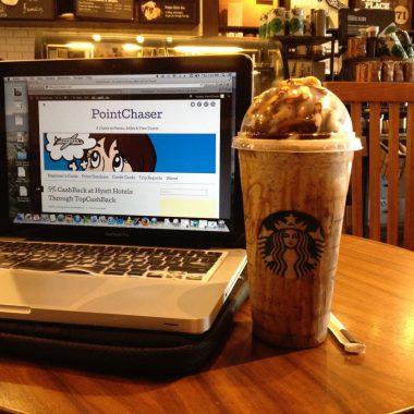 PointChaser Blogger Starbucks Frappuccino